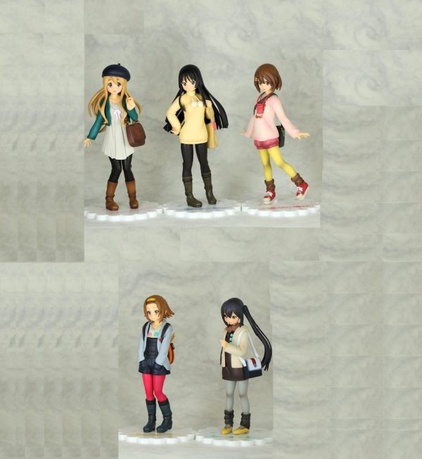 k-on the movie Figure Set Banpresto UKK-on anime figures UK animetal