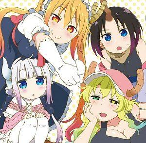 Miss Kobayashi's Dragon Maid Figures