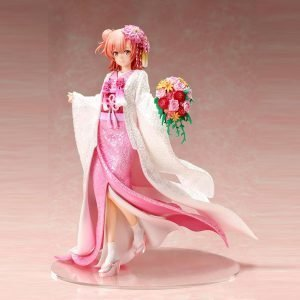 My Teen Romantic Comedy Yui Yuigahama Statue 1/7 Scale Shiromuku FuRyu UK My Teen Romantic Comedy Yui Yuigahama Scale figure UK Animetal licensed anime UK