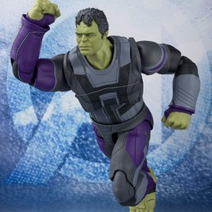 Avengers: Endgame S.H. Figuarts Hulk Action Figure Bandai Tamashii Nations Marvel UK Avengers hulk action figure UK Marvel Avengers collectibles UK
