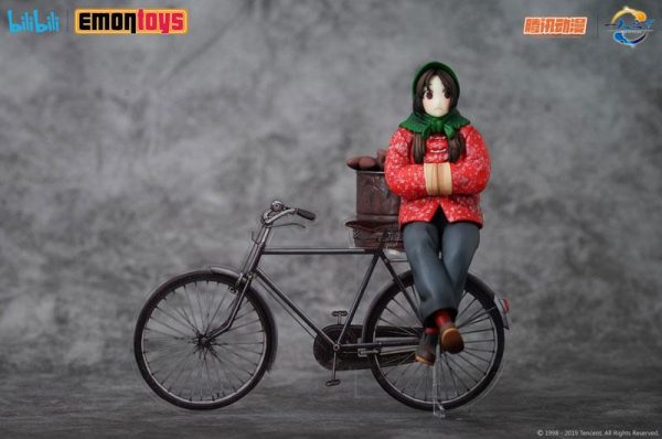 Under One Person Feng Baobao Statue Winter Ver. 1/10 Scale Emon Toys UK T2 Under One Person anime statues UK Animetal Baobao figures UK