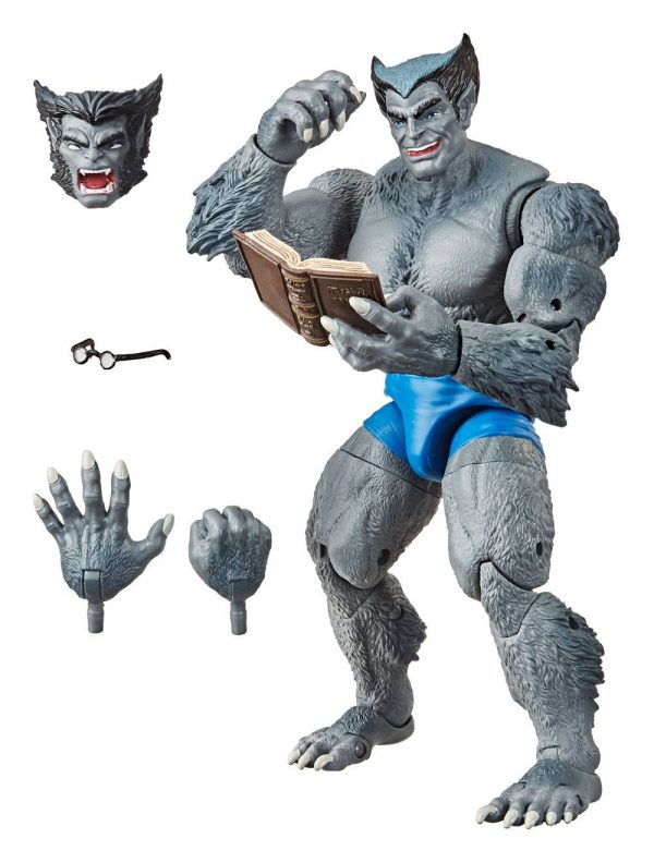 Marvel Retro Collection 2020 Beast Action Figure (The Uncanny X-Men) Hasbro UK Retro marvel action figures UK Marvel x-men beast action figure