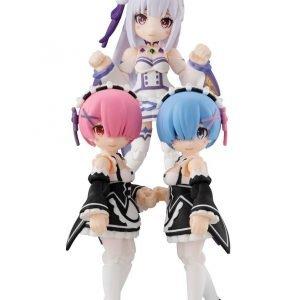 Re:Zero Desktop Army 3 Figure Set Megahouse UK Re zero anime figures UK rezero figure set UK Animetal rezero rem figures re zero ram figures