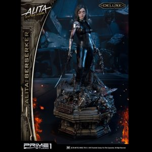 Alita: Battle Angel Statue Alita Berserker Deluxe 64cm 1/4 Scale Prime 1 Studio UK Animetal alita figures UK alita scale statues UK