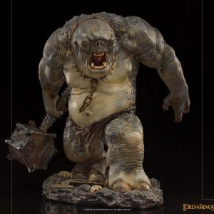 Lord of the Rings Deluxe BDS Art Scale Statue Cave Troll 1/10 Scale Iron Studios UK Lord of the Rings cave troll polystone scale statues UK Animetal