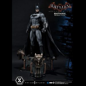 Batman Arkham Knight Statue Batman Batsuit v7.43 86cm 1/3 Scale prime 1 studio UK Batman statues UK prime 1 studio statues UK Animetal