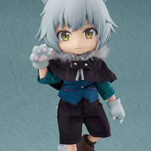 Original Character Nendoroid Doll Action Figure Wolf: Ash Good Smile Company UK nendoroid dolls UK wolf ash nendoroid UK Animetal
