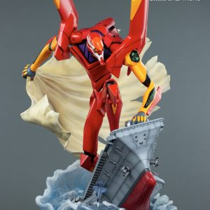 Evangelion EVA-02 : FIRST APPEARANCE Resin Statue Diorama Limited Oniri Creations UK evangelion resin statue oniri creations UK eva-02 figure UK animetal