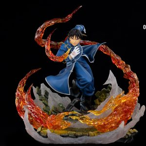 Fullmetal Alchemist Roy Mustang Resin Statue 1/6 Scale Limited Oniri Creations UK roy mustang flame alchemist resin statue oniri creations UK