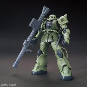 Gundam High Grade: MS-06C Zaku II Type C/Type C-5 HGGTO 1/144 Scale Bandai UK gundam high grade model kits UK gundam GH model kits UK