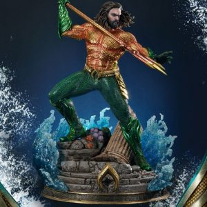 Aquaman Statue Aquaman 88cm Limited Edition Prime 1 Studio UK Aquaman resin statues UK dc comics collectibles UK dc memorabilia UK animetal