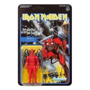 Iron Maiden ReAction Action Figure The Number of the Beast (Album Art) UK iron maiden action figures UK iron maiden album cover art UK animetal