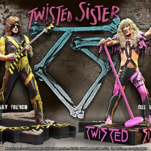 Twisted Sister Rock Iconz Statue 2-Pack Dee Snider & Jay Jay French Limited Edition 22 cm Knucklebonz Twisted Sister figures UK Animetal