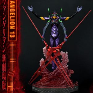 Neon Genesis Evangelion Statue Evangelion Unit 13 Deluxe Version 161 cm Prime 1 Studio UK neon genesis evangelion prime 1 studio statue UK Animetal