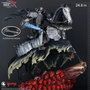 Berserk Statue 1/6 Skull Knight 63 cm Taka Corp Studio UK berserk statues UK berserk scale staues UK berserk figures UK Animetal