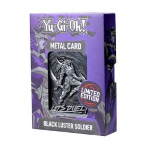 Yu-Gi-Oh! Replica Card Black Luster Soldier Limited Edition FaNaTtik UK yu-gi-oh merchandise UK yu gi oh merchandise UK yugioh replica card UK Animetal
