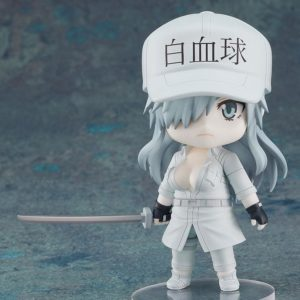 Cells at Work! Code Black Nendoroid Action Figure White Blood Cell Neutrophil 1196 10 cm Good Smile Company UK cells at work neutrophill nendoroid UK Animetal