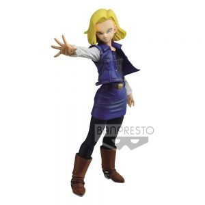 Dragon Ball Z Match Makers Statue Android 18 18 cm Banpresto UK dragon ball figures UK dragonball figures UK DBZ Android 18 figure UK Animetal
