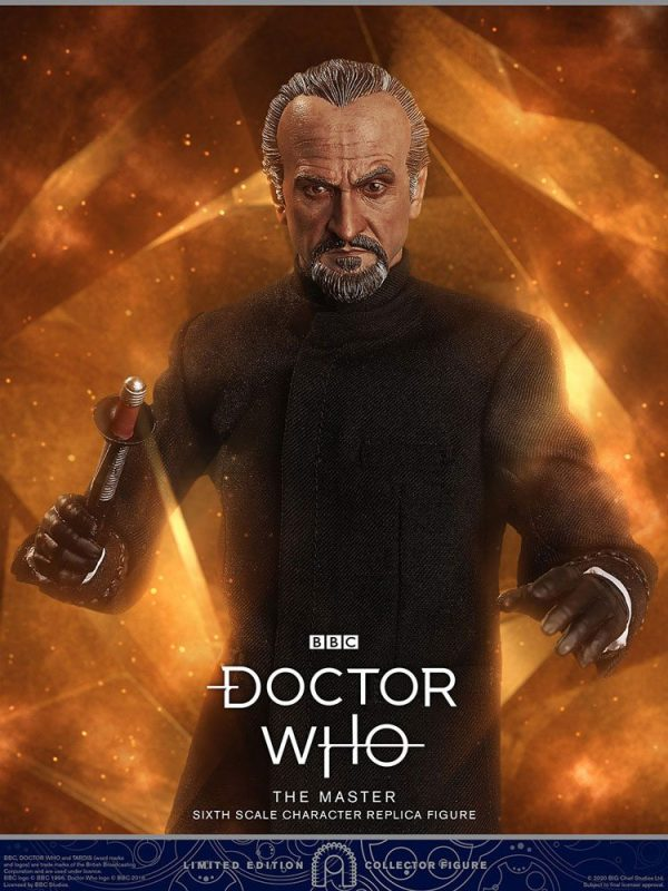 Doctor Who Collector Figure Series Action Figure 1/6 3rd Doctor (Jon Pertwee) Limited Edition 30 cm BIG Chief Studios doctor who figures UK Animetal