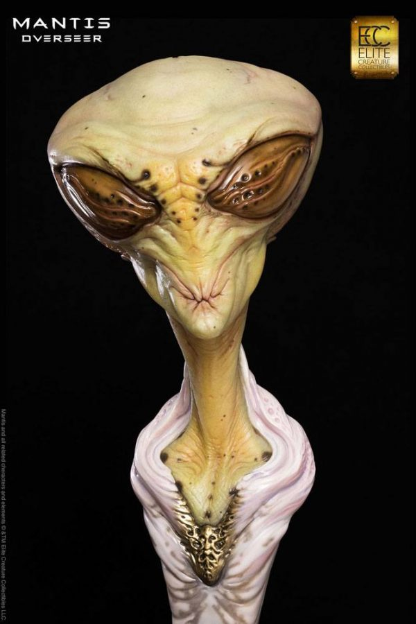 Mantis Overseer Life-Size Bust by Steve Wang 63 cm Elite Creature Collectibles life size busts UK alien statue UK limited edition statues UK Animetal