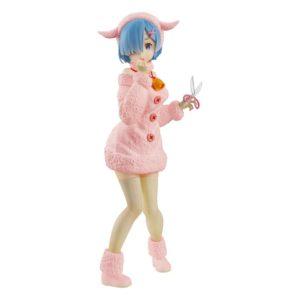 Re:ZERO SSS PVC Statue Rem The Wolf and the Seven Kids Pastel Color Ver. FuRyu UK re:zero rem figure furyu re zero rem statue UK Animetal