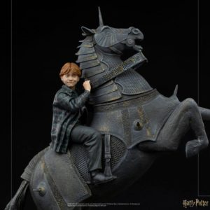 Harry Potter Deluxe Art Scale Statue 1/10 Ron Weasley at the Wizard Chess 35 cm Iron Studios UK harry potter ron weasley statue iron studios UK Animetal