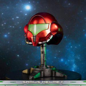 Metroid Prime Statue Samus Helmet 49 cm First 4 Figures UK metroid prime statues UK metroid prime samus helmet statue prime 1 studio UK Animetal